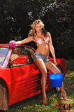 Gina in Rinsing The Red Ride!k2nujf6sdw.jpg
