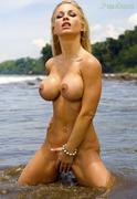 Jenny Poussin - Green bikinib183rlwlq7.jpg